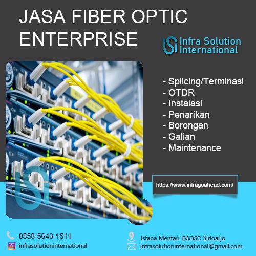 Jasa Splicing Fiber Optic Madiun Enterprise