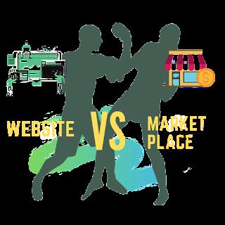 Pilih Website Atau Marketplace
