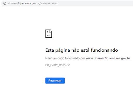 Alô alô Ministério Público, o Portal da Transparência de vários municípios não está permitindo o acesso!!!