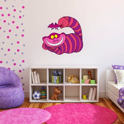 Bedroom Decor Ideas And Designs: Alice In Wonderland