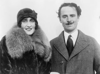 Cynthia (Curzon) & Oswald Mosley (from Amazon.com)