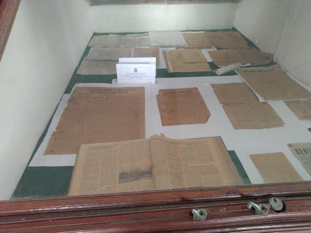 koleksi dokumen museum perjoangan