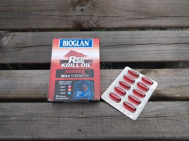 BIOGLAN Red Krill Oil 1000mg MAX Strength Supplement