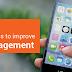 Top 5 best practices to improve app engagement