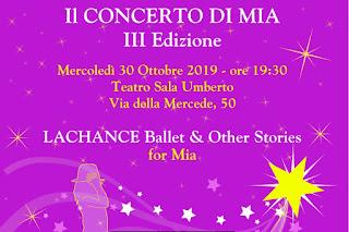 concerto Mia Neri donazioni