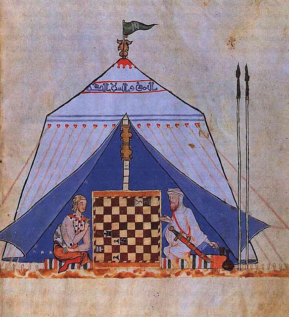 Jogo de xadrez simbolizando a guerra