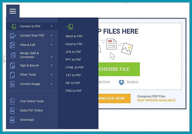 Soda PDF:  Aφαιρέστε  τους  κωδικούς σε έγγραφα PDF