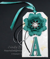 Heart's Delight Cards, Bag Tags, Downline Gifts, Stampin' Up!