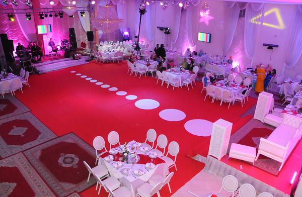 مشروع شركة تنظيم حفلات زفاف و اقتناء المعدات والتجهيزات