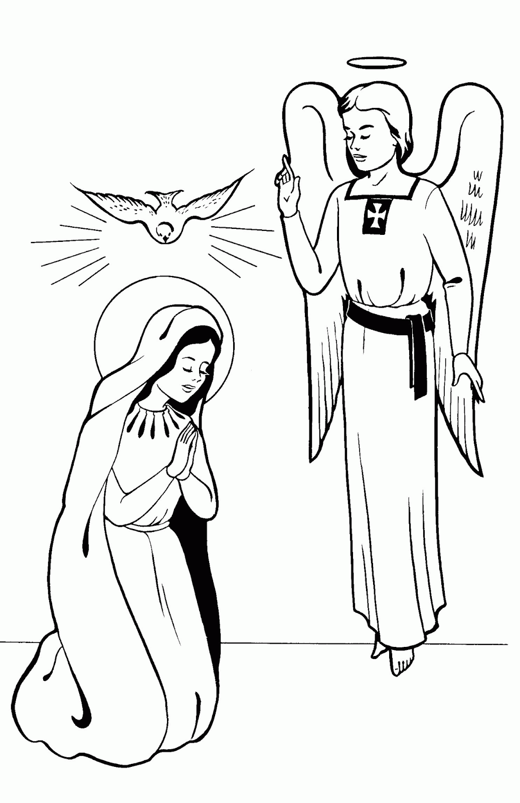 Ausmalbilder Engel Weihnachten
