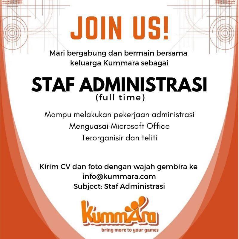 Loker Staff Administrasi Di Bandung Lowongan Kerja Terbaru Indonesia 2021