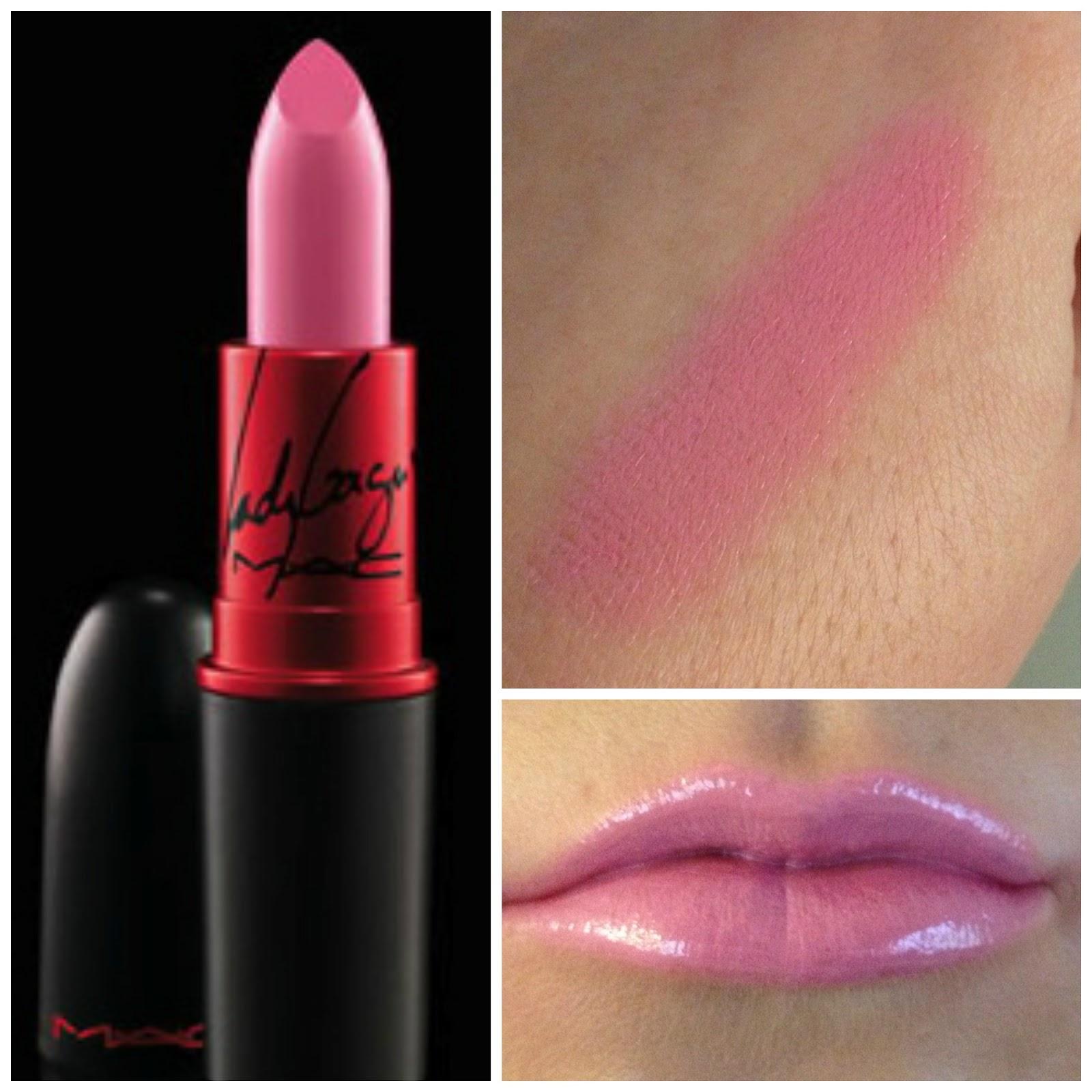 MAC Prabal Gurung Light English Red Carmine Rouge ... |Light Pink Lipstick Mac