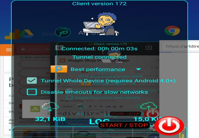 Cara Psiphon Pro Transparan Mod Premium Terbaru Download