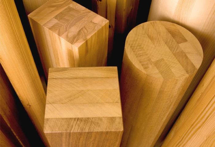 Il legno lamellare sezioni commerciali processo produttivo caratteristiche edilizia in un - Tavole di legno per edilizia ...
