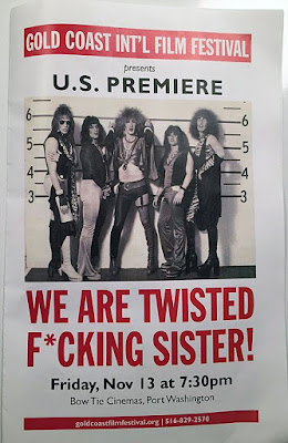 """We Are Twisted Fuckin' Sister"" movie premiere poster Friday... November 13, 2015"
