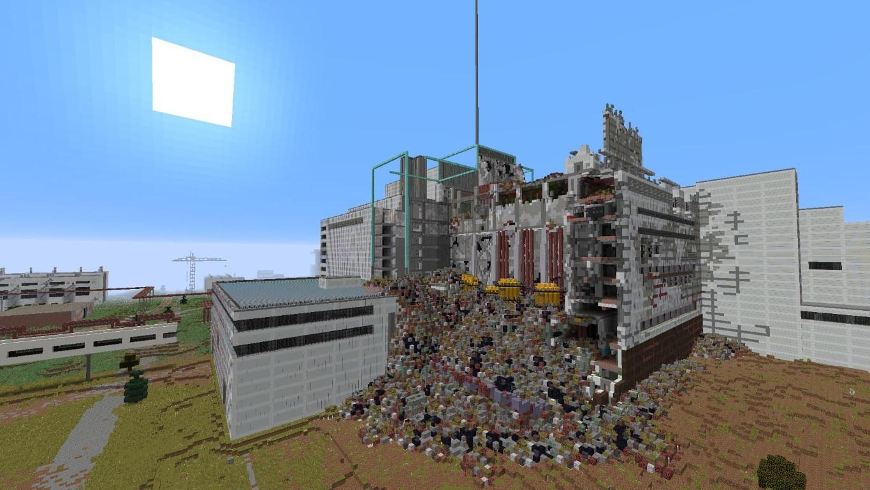 Chernobyl-en-Minecraft