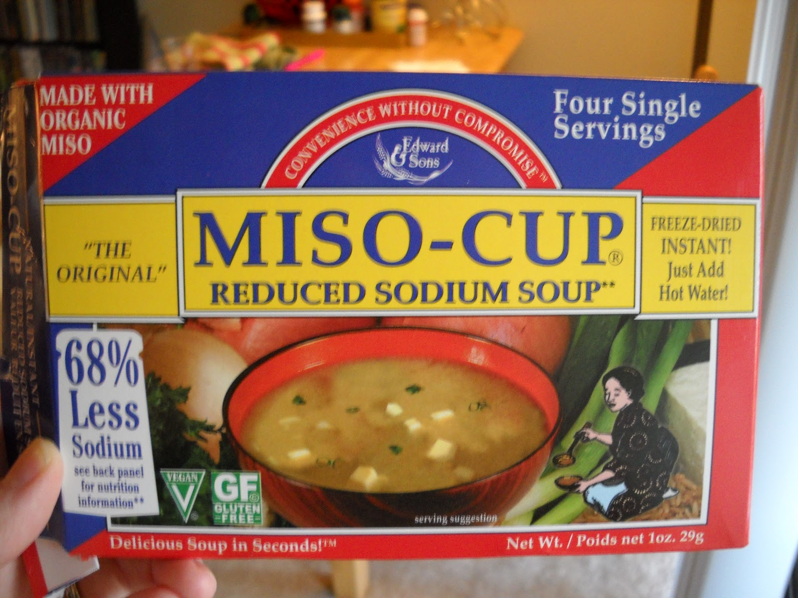 Miso Soup Packets Instant miso soup packetsInstant Miso Soup Packets