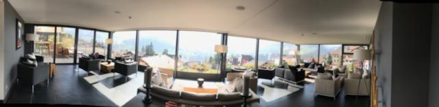 スイス・アデルボーデン・ザ・カンブリアン・ホテルのロビー