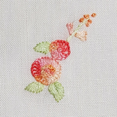Mẫu thêu hoa nhí đẹp - Hinh 5