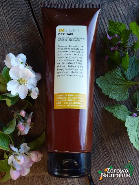 Insight - Dry hair Nourishing  - Odżywcza maska do włosów  suchych