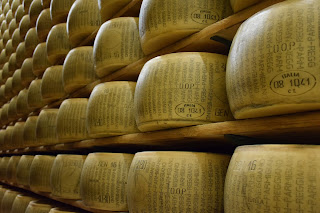 Parmigano-Reggiano cheese is one of the culinary products for which Parma is famous