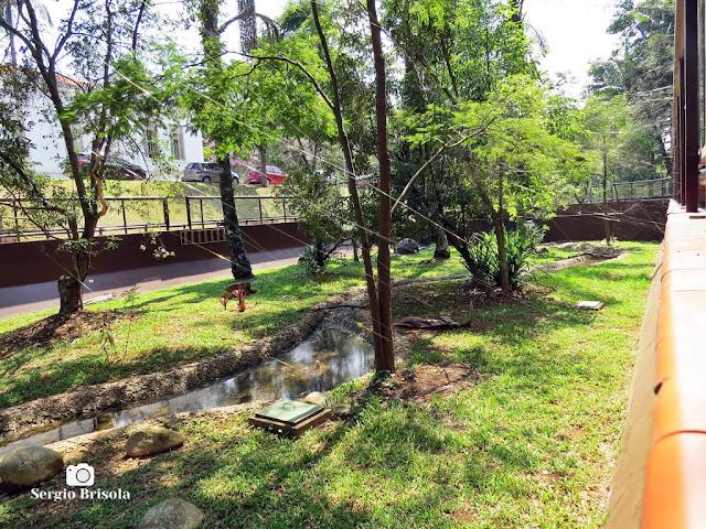 Vista do interior do Serpentário do Instituto Butantan - São Paulo