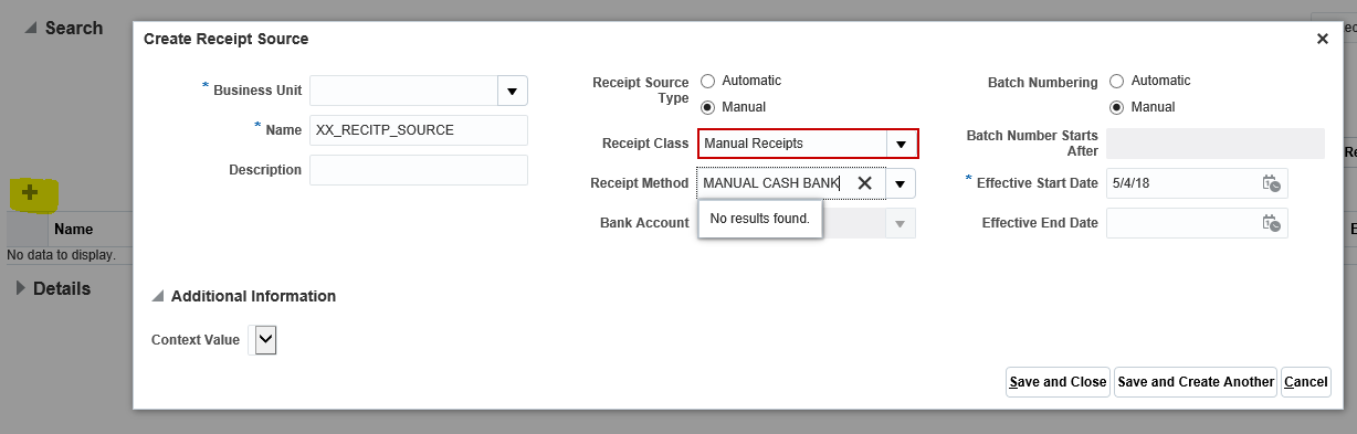 What is Receipt Sources in Oracle. Receipt Source Setup