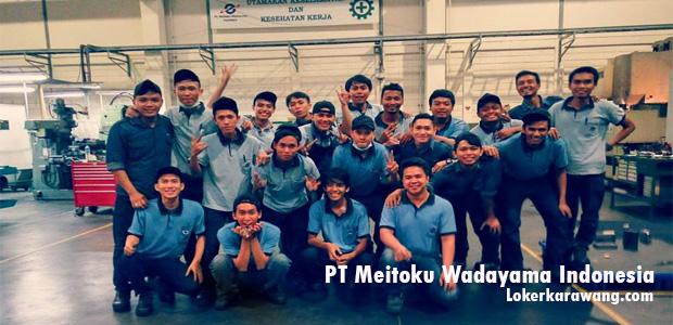 Lowongan Kerja PT Meitoku Wadayama Indonesia