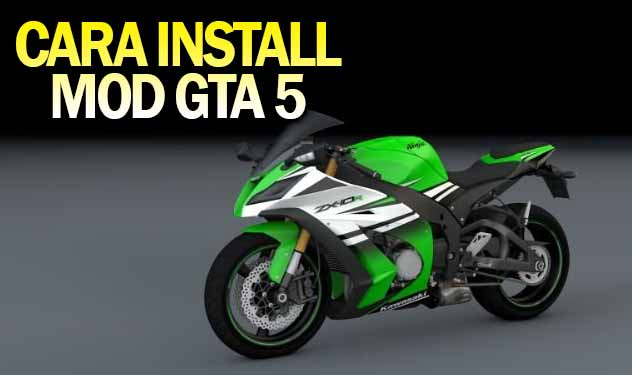 Tutorial Cara Install Mod Motor/Mobil GTA 5 [Add on- Replace]