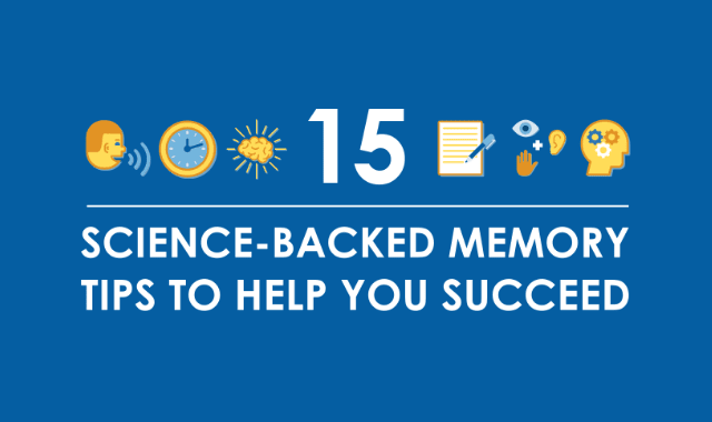 15 Science-Backed Memory Tips to Help You Succeed