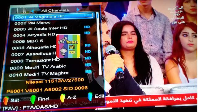 تردد قناة المغربية الخامسة 2021