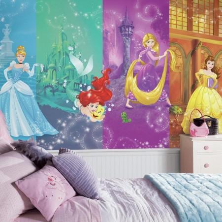 Disney Princess Wall Mural Girls Room