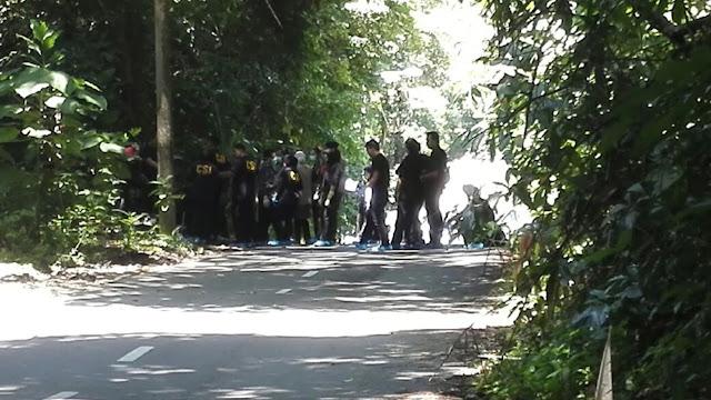 Lelaki Maut Dikelar Sekumpulan Lelaki Menyamar Polis
