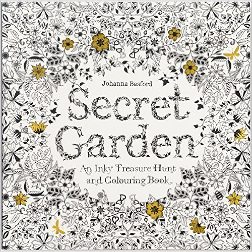 Secret Garden An Inky Treasure Hunt And Coloring Book AND Enchanted Forest Quest By Johanna Basford