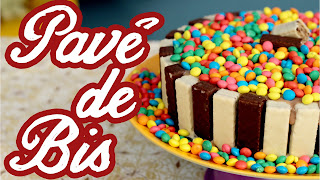 Pavê de Bis (Sobremesa de Natal e Ano Novo) - Cozinha pra 1 gosta de chocolate compartilhe