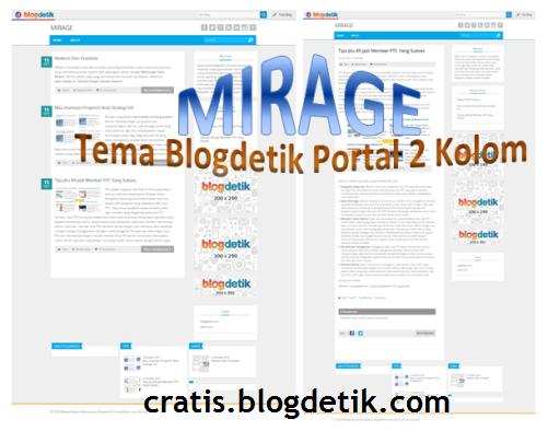 Mirage : Tema Blogdetik Portal 2 Kolom