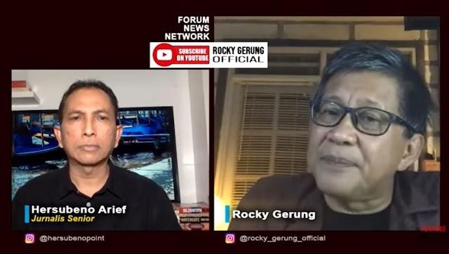 Jokowi ke Nikahan Atta-Aurel, Rocky Gerung: Pengamanan Bisa Rp 30 Miliar