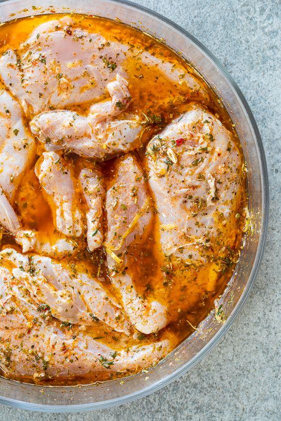 Lemon Herb Chicken Breasts