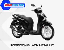 Honda SH 150 Matte black