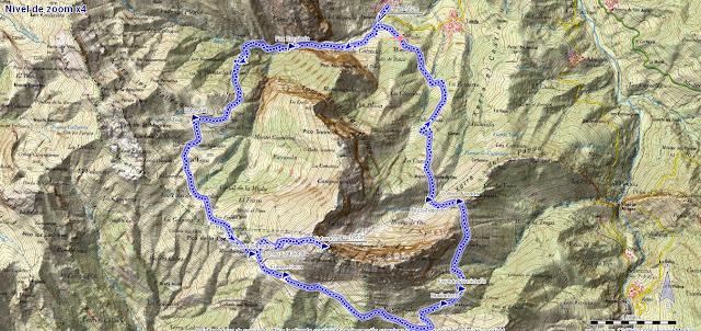 Mapa ruta Tiatordos Taranes