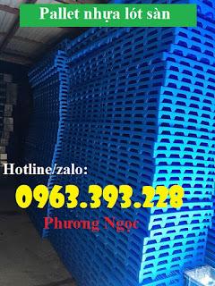 Pallet nhựa lót sàn, pallet nhựa nâng hàng, pallet kê kho 5fa46e8f2877cf299666