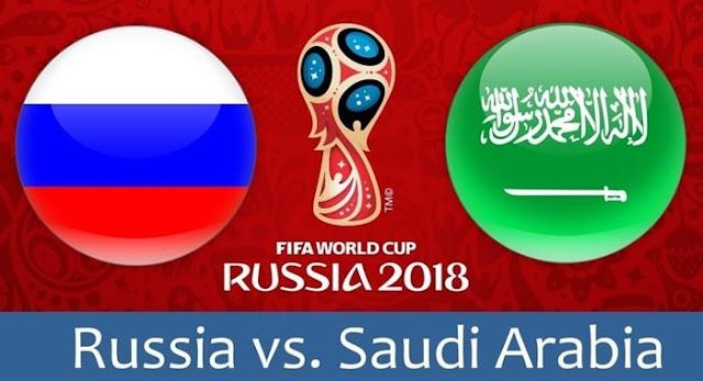 بث مباشر مشاهدة مباراة السعودية وروسيا الخميس 14-6-2018 في كأس العالم