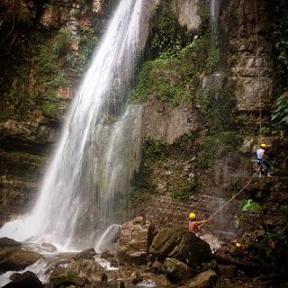 La cascada Comales en Xilitla