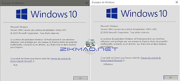Windows 10 testé