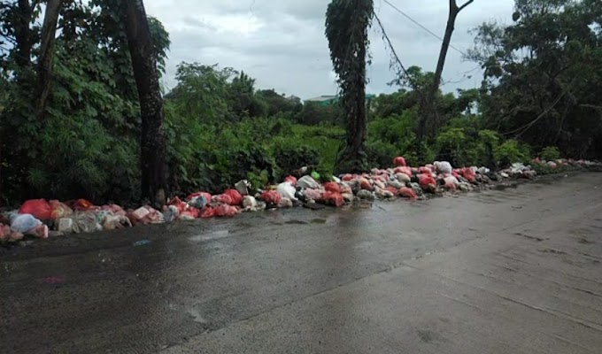 Warga Keluhkan Sampah Liar Dijalan Sukamanah-Parigi, Dinas Terkait Diminta Ambil Tindakan