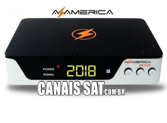 Azamerica Silver HD Atualização V1.45 - 04/04/2021