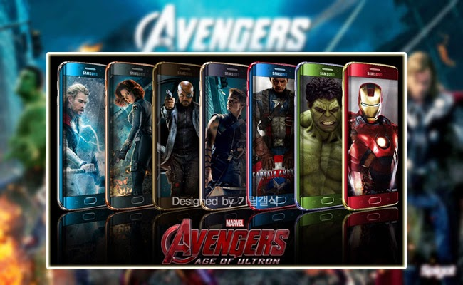 Avengers Limited Edition for Samsung Galaxy S6 Edge