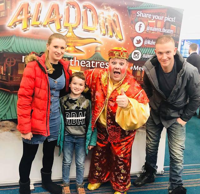 Malvern Theatres Aladding Pantomime