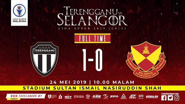 Jaringan minit akhir membantu kemenangan tipis Terengganu FC... Tahniah!