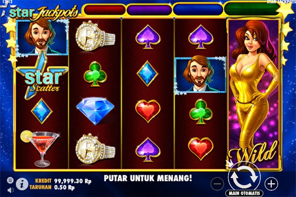 Main Slot Gratis Indonesia - Star Jackpots (Pragmatic Play)